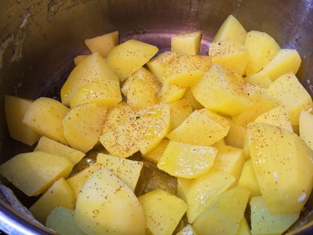Kartoffelstampf-Olivenöl-Rucola-7