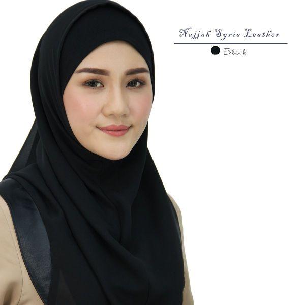 [NAJJAH] SYRIA LEATHER ( BLACK )