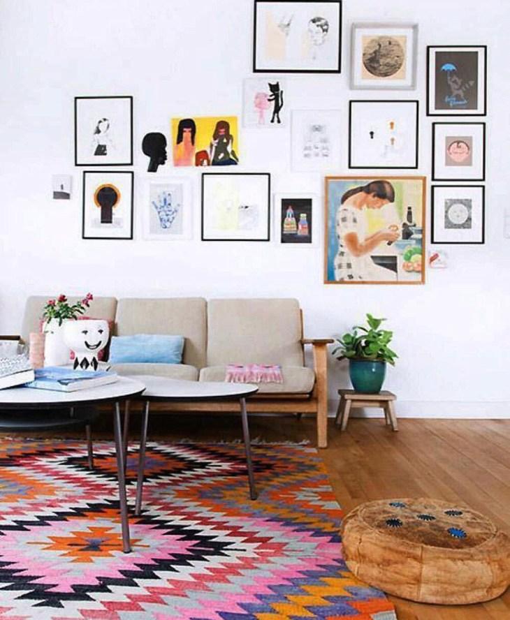 10 small living room ideas -溫暖的小客廳