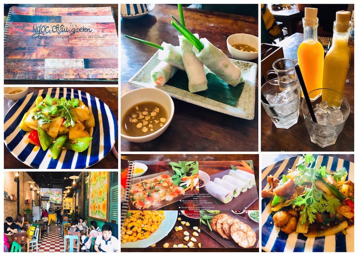 [越南胡志明市-美食] 第一郡/家鄉味:臺式越南餐廳 Ngoc Chau Garden - 老師旅行愛分享