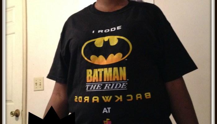 Six Flags'  Batman The Ride BACKWARDS Review