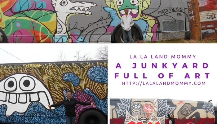 A Junkyard Full Of Art