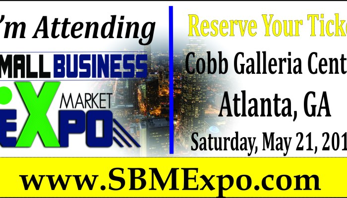 The Small Business Market Expo Atlanta Trade Show