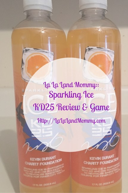 La La Land Mommy: Sparkling Ice KD25 Review & Game