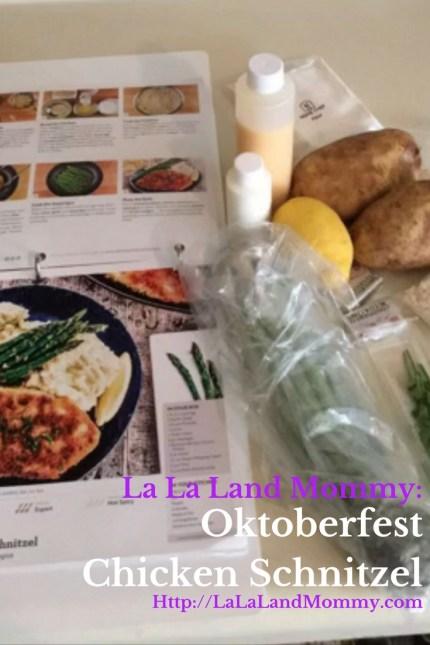 La La Land Mommy: Oktoberfest Chicken Schnitzel