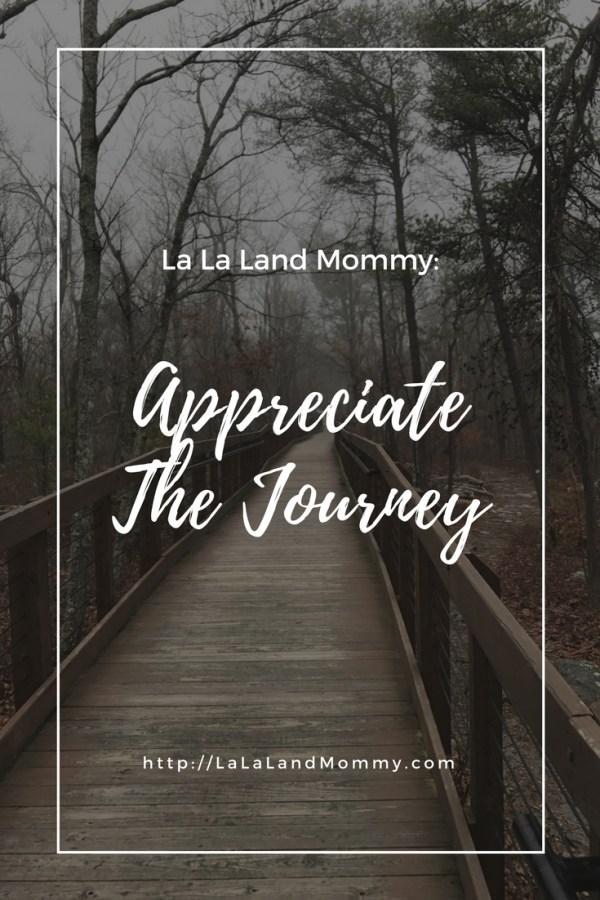 La La Land Mommy: Appreciate The Journey
