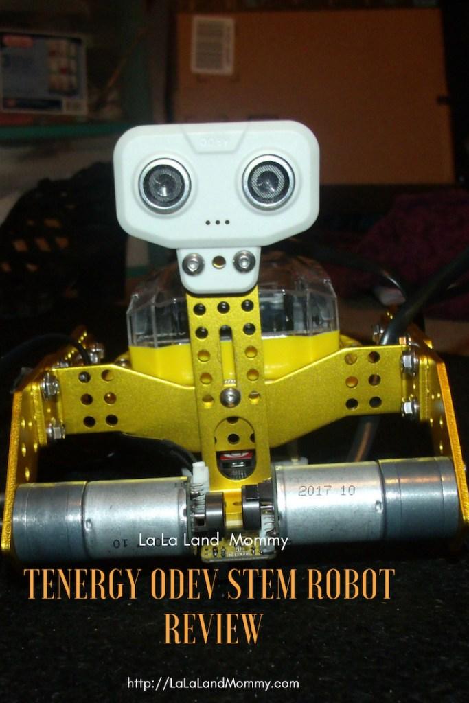 La LaLand Mommy: Tenergy Odev STEM Robot Review