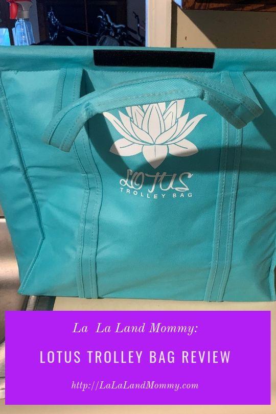 La La Land Mommy: Lotus Trolley Bag Review