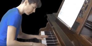 🎶 BRAHMS Rhapsodie 1.Battle Piano avec Aurélie