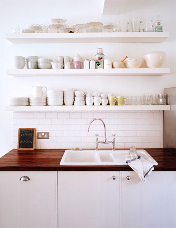 Kitchen Floating Shelf Ideas Custom Floating Shelves
