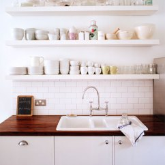 Kitchen Shelf Ideas Kitchens Cabinets Floating Custom Shelves