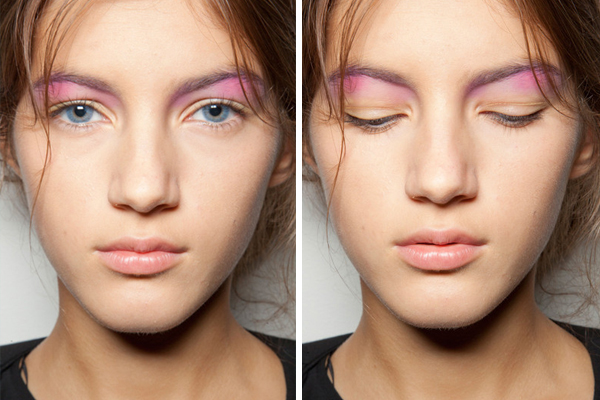 pink eyeshadow #lalaloving