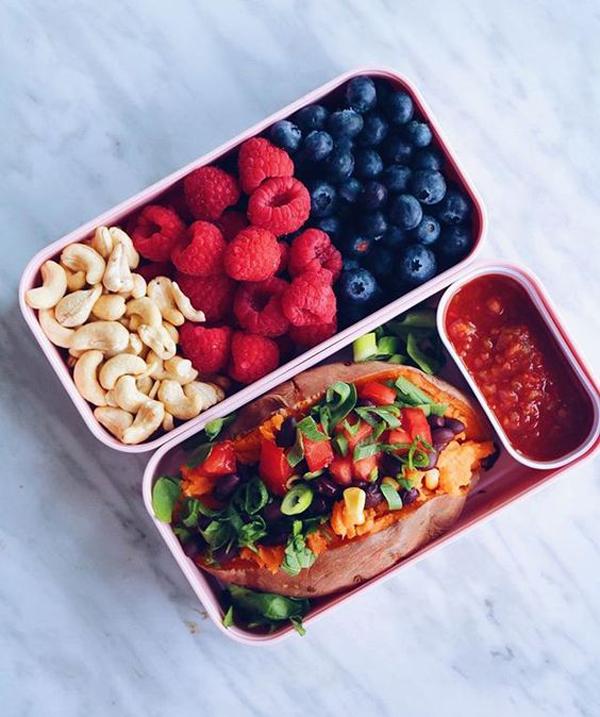 Bento box lunch love
