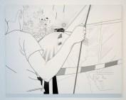 New Work, On Deck, print, 130 x 100 cm, 2004