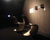 New Work, installation view, audio work, 2004