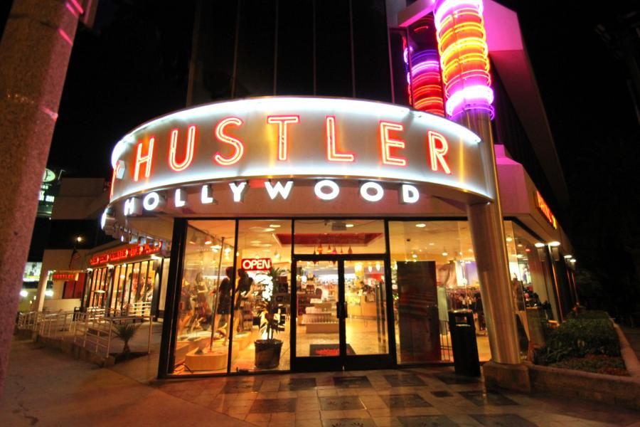 Iconic Hustler Hollywood not just for toys  LaLaScoop