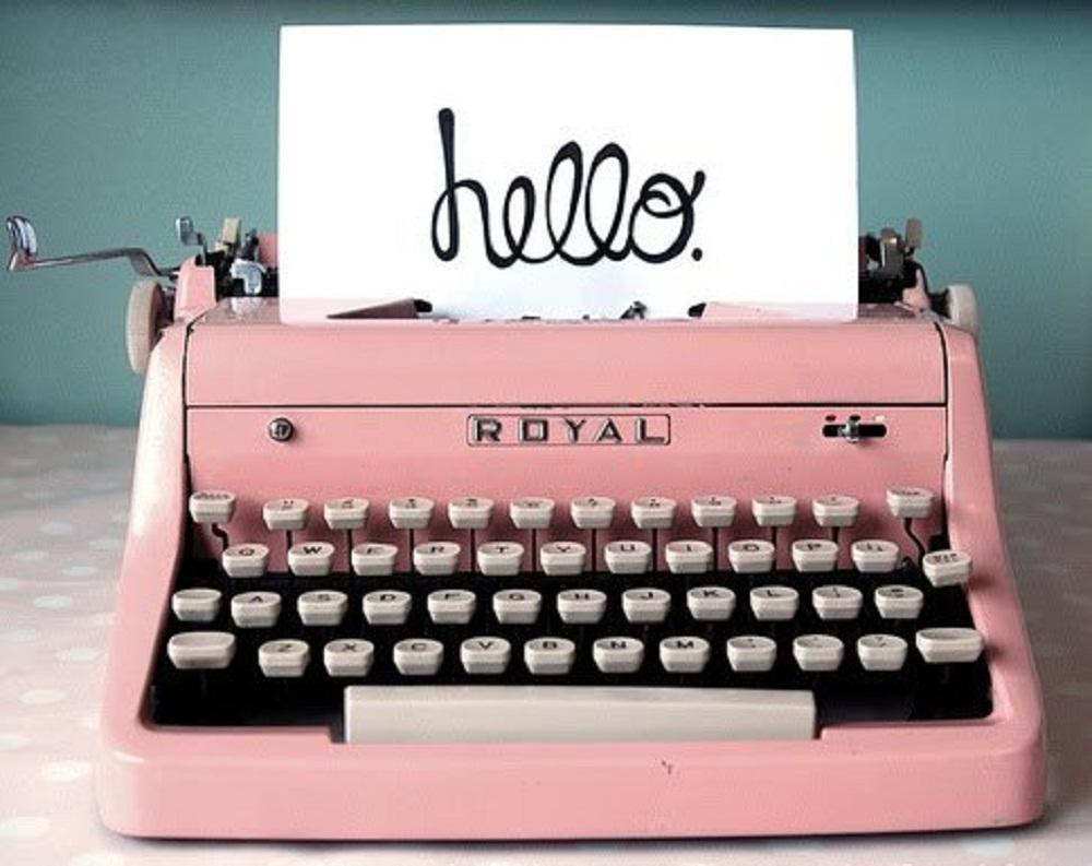 hello-typewriter