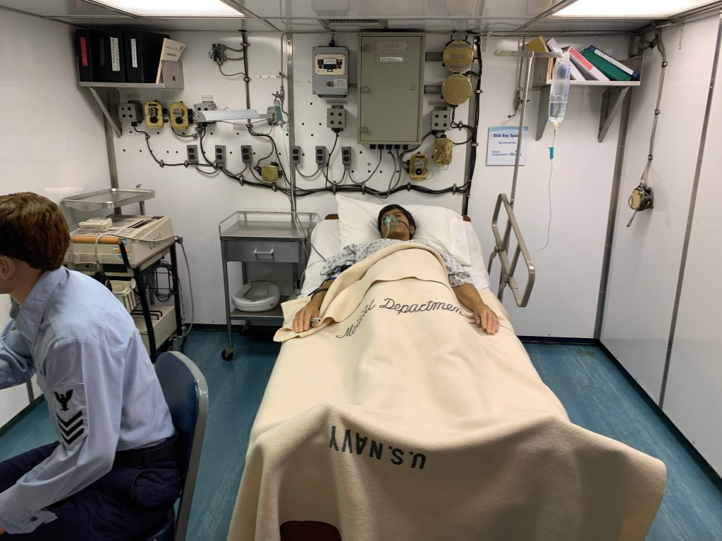 Hospital on USS Midway