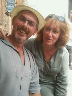 Murielle et Fred Bartiuax, gites lalaurie