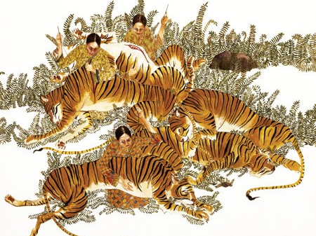 Tiger Mending by Amy Cutler