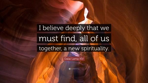 dalai lama quote new spirituality