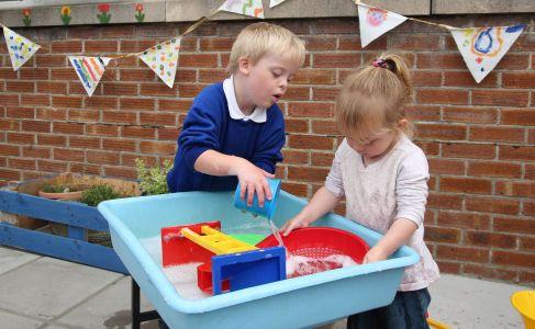 Bryntirion Infants Sensory Garden 2