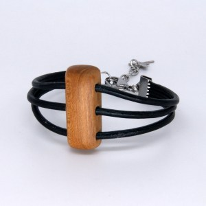 Bracelet Amandier 3 cordons Cuir – Mixte