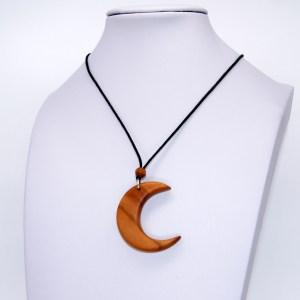Collier Croissant de Lune – Amandier – Mixte
