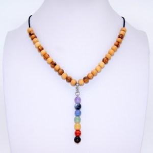 Collier «princesse» pendentif Chakras