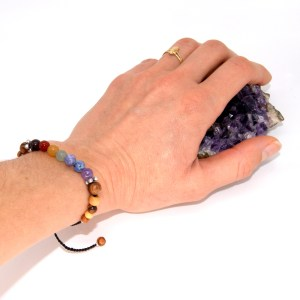 Bracelet Chakras – taille réglable