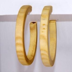 Créoles en Micocoulier – Ø 5.6 cm