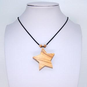 Collier Etoile du Nord – Olivier – Mixte