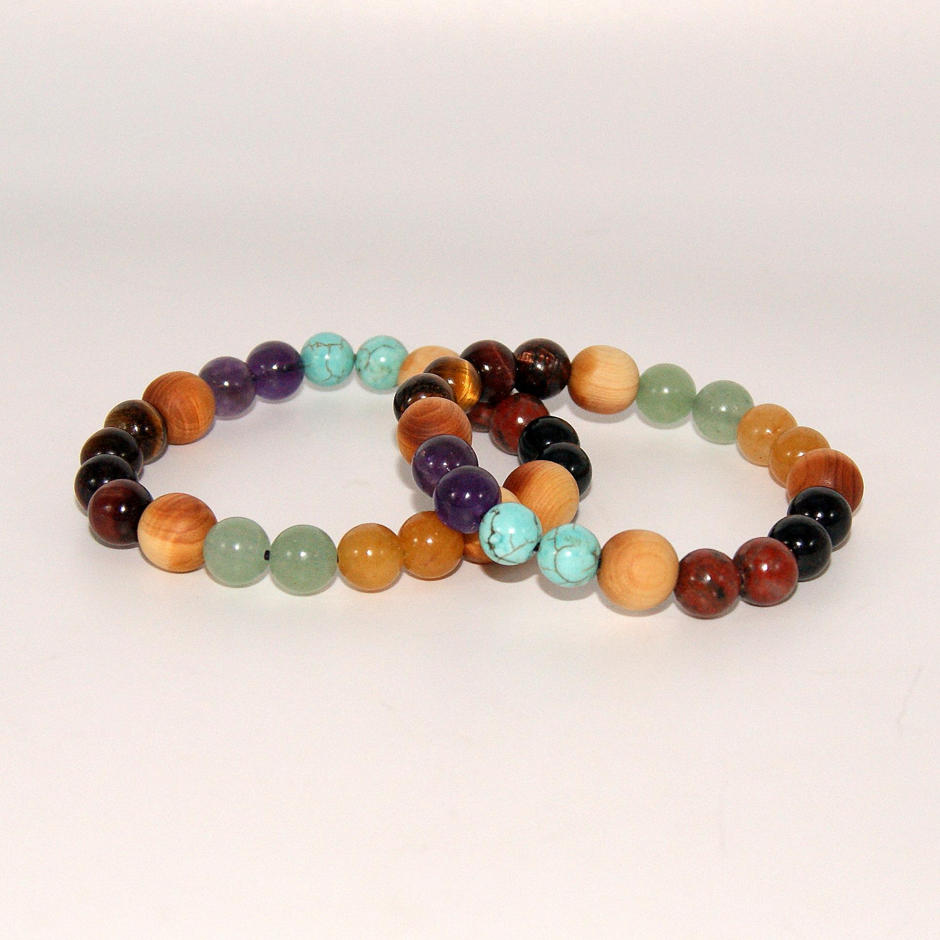 Bracelets pierres et Cade