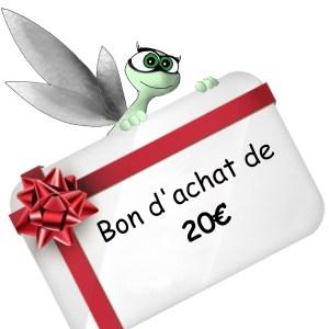 Carte cadeau de 20 Euros