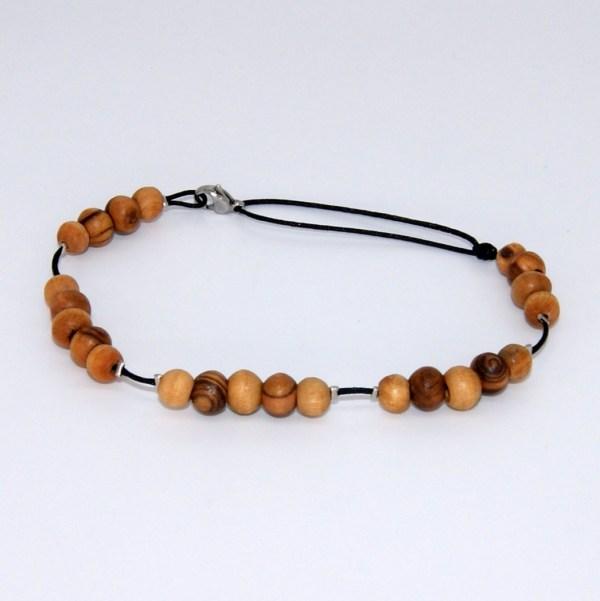 Bracelet cheville nature