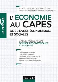 Agrégation Sciences économiques Et Sociales : agrégation, sciences, économiques, sociales, Livre, L'économie, Capes, Sciences, Sociales, Dunod