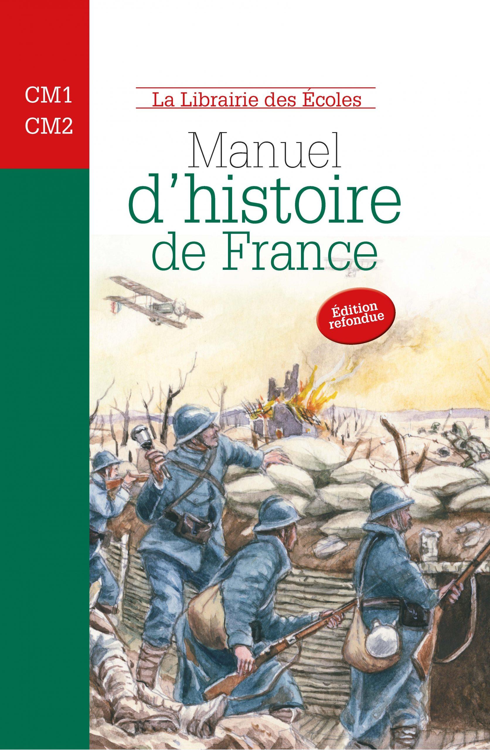 Livre D Histoire De France : livre, histoire, france, Manuel, D'histoire, France, CM1-CM2, Librairie, Ecoles