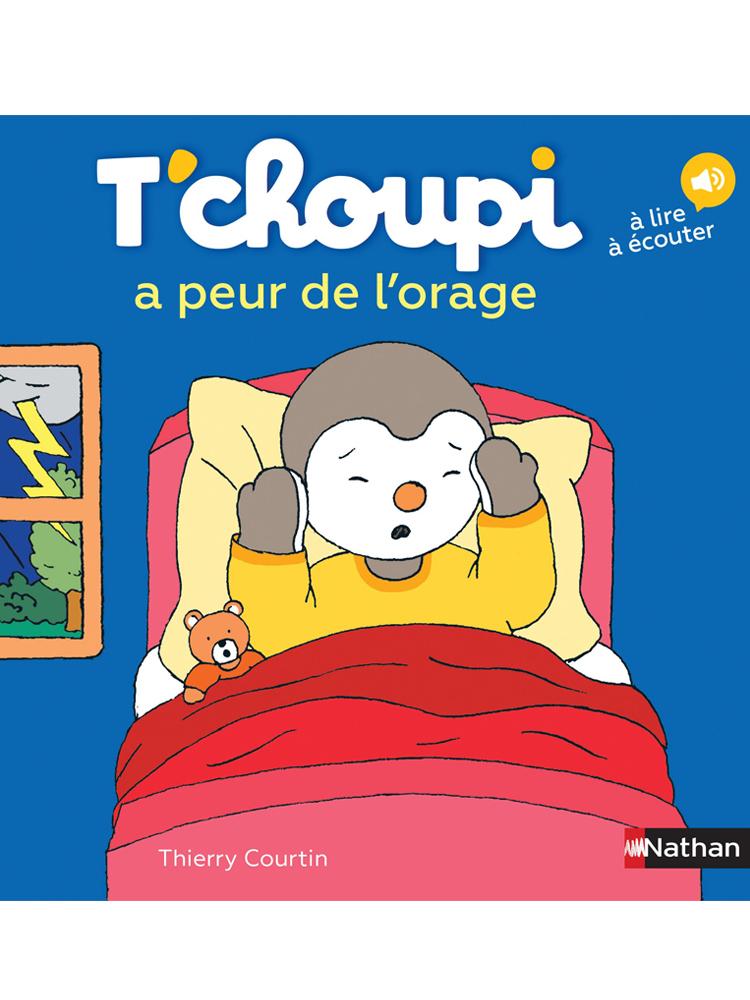 T Choupi A Peur De L Orage : choupi, orage, T'choupi, L'orage, Librairie, Enfants