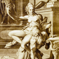 Amazona (La leyenda de Filis y Aristóteles)