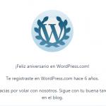 6 curiosidades cumpleañeras para 6 años de blog