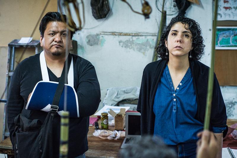 Fernando Vigueras y Carolina Jiménez