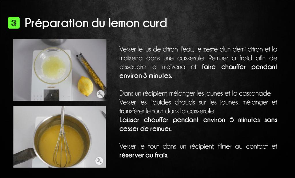 etapes citron meringuée