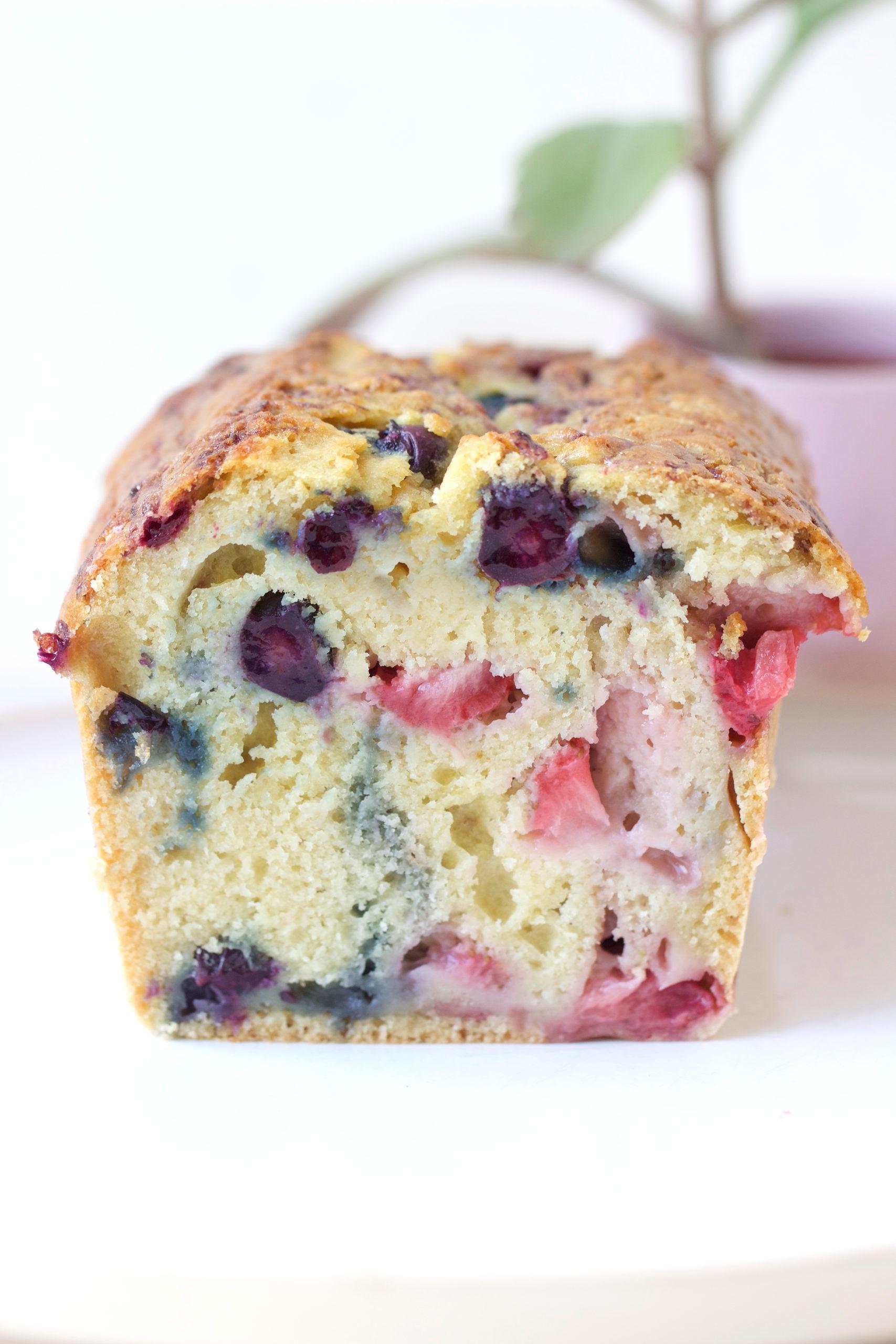 Cake myrtille et fraise