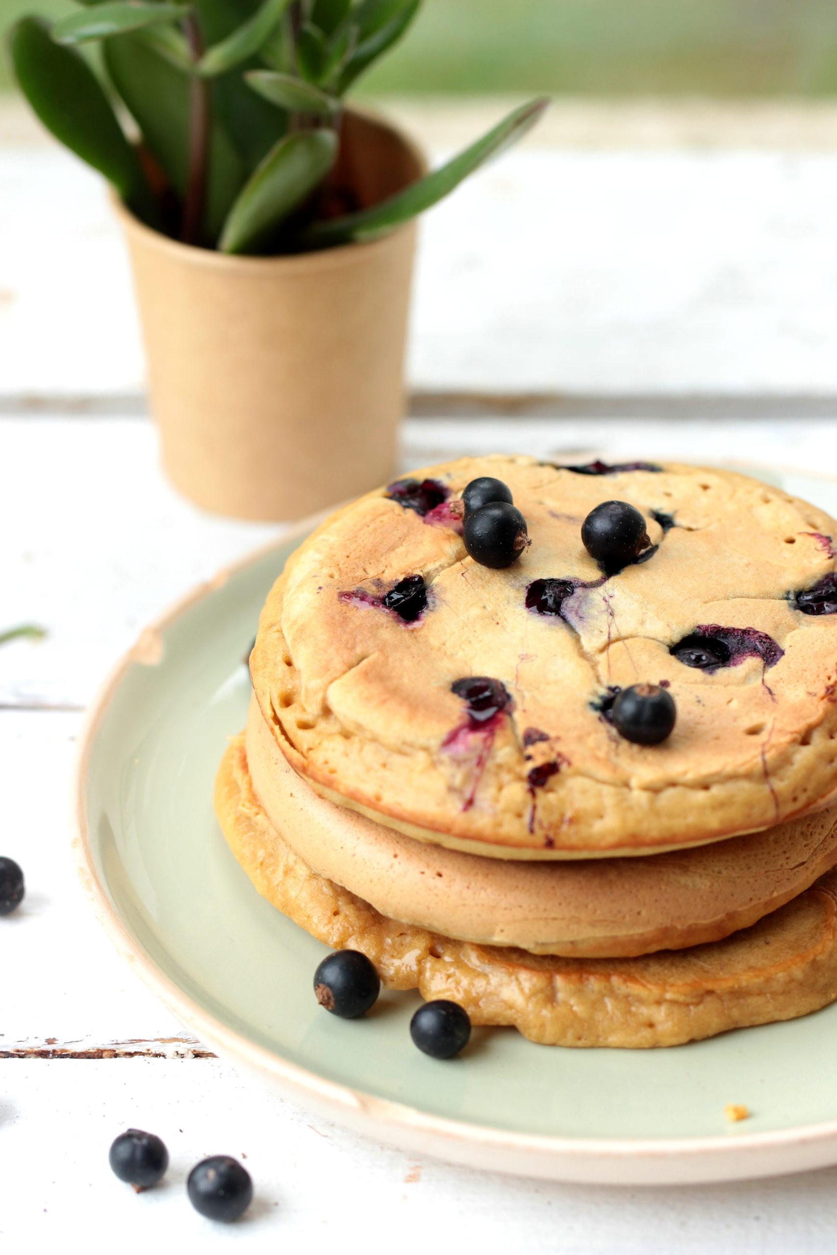 Pancakes express à la myrtille