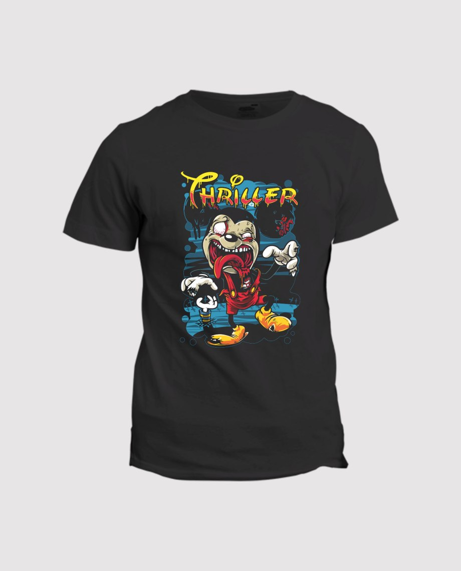 la-ligne-shop-t-shirt-homme-mickey-mouse-thriller-zombie