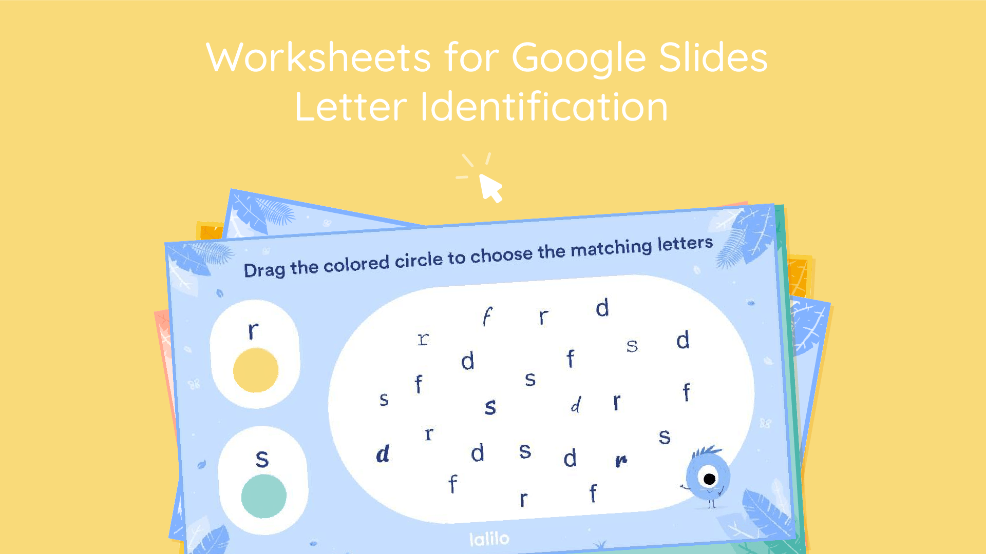 Letter Identification Interactive Worksheets For
