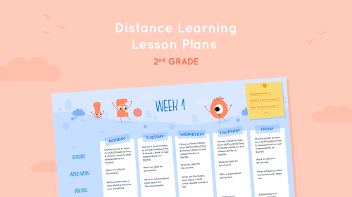 small resolution of Distance Learning Lesson Plans for 2nd Grade - Lalilo Blog