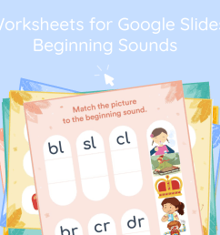 Beginning Blends Interactive Worksheet for Google Classroom - Lalilo Blog [ 4500 x 8000 Pixel ]