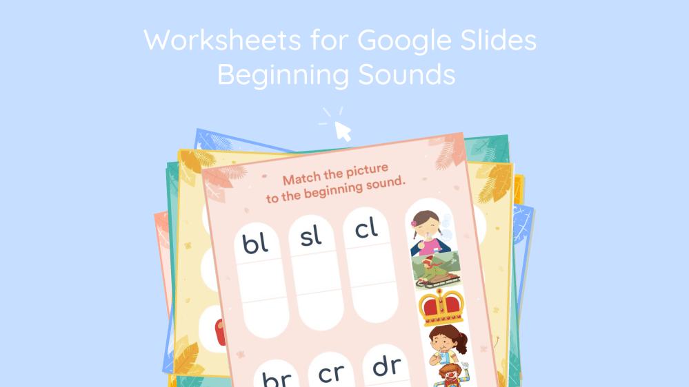medium resolution of Beginning Blends Interactive Worksheet for Google Classroom - Lalilo Blog