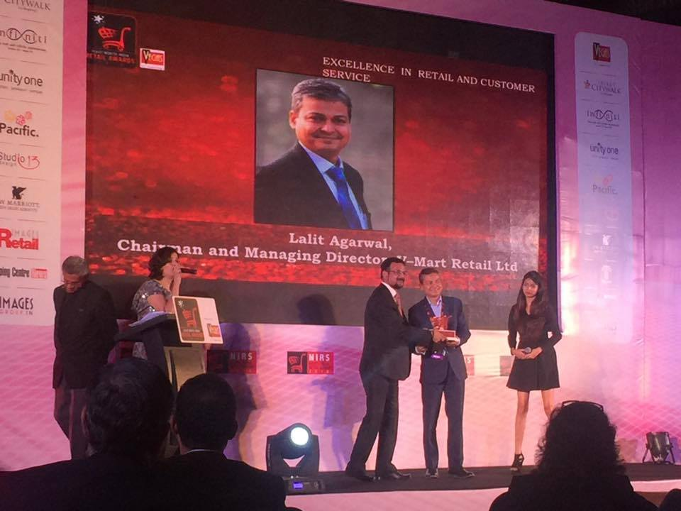 IRF Recognised with the Images North India Retailer Award, Aerocity, Delhi